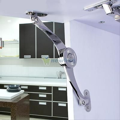 Kitchen Cabinet Cupboard Door Soft Close Lift Up Stay Hinge Mesmerizing Kitchen Cabinet Soft Close Design Decoration