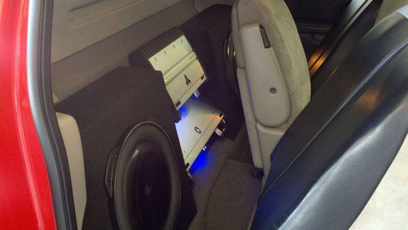 Ford Lightning Jl Audio Install Ford Lightning Car Car Audio