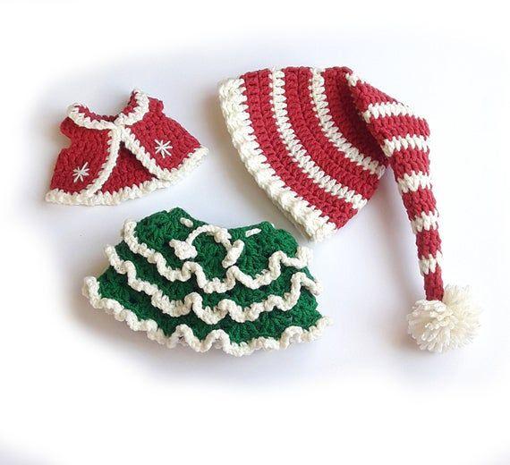 Häkelanleitung Weihnachtswichtelinchen | Amigurumi navideño ... | 520x570