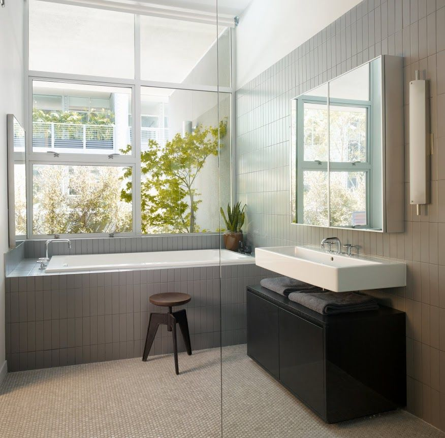 20 Refined Gray Bathroom Ideas Design And Remodel Pictures Mesmerizing Modern Grey Bathroom Designs Decorating Inspiration