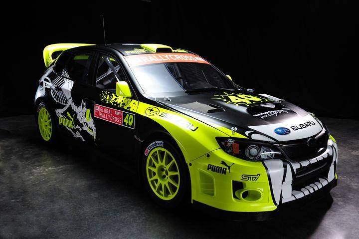 Subaru Puma Rallycross Neon Yellow Subaru Rally Subaru Cars Rally Car