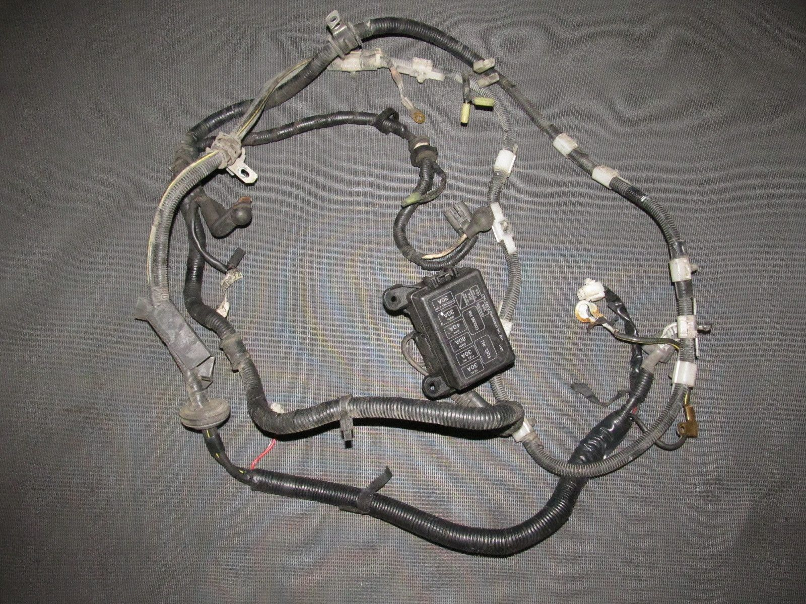 94 95 96 97 mazda miata oem battery starter alternator wiring m t harness [ 1600 x 1200 Pixel ]
