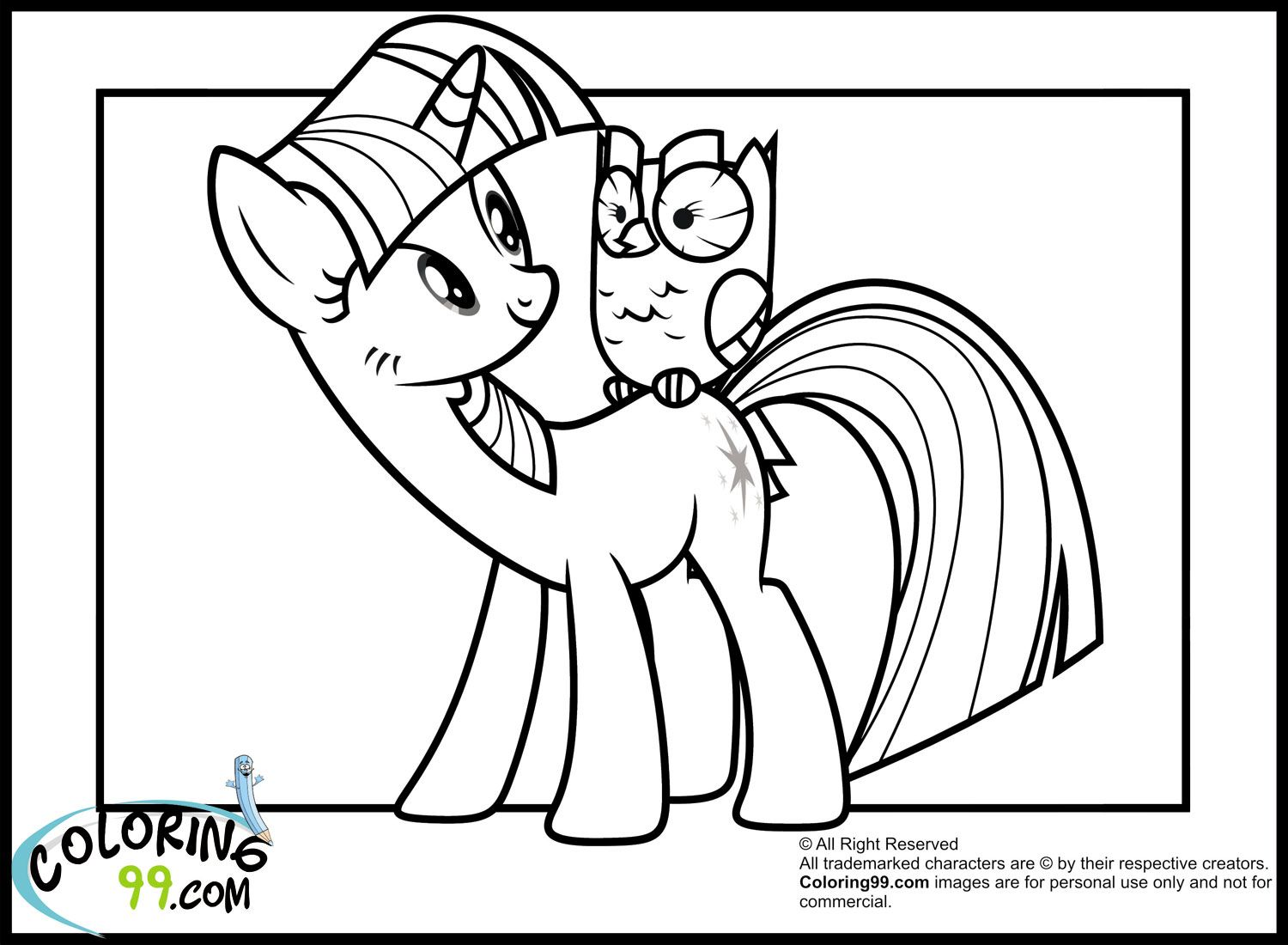 My little pony friendship magic coloring pages print - My Little Pony Coloring Pages Young Rarity Http East Color