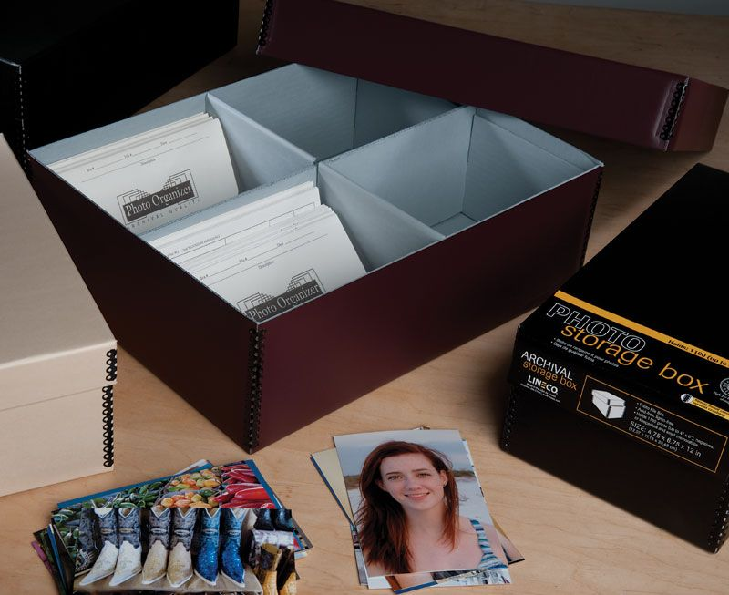 Bulk Photo Storage Boxes From Lineco #archival #envelope #print #negative
