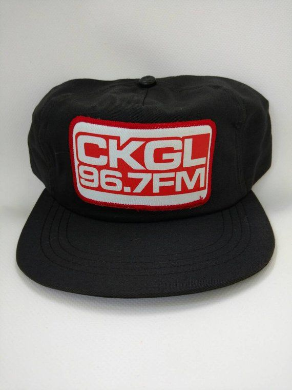 CKGL 967 FM Trucker Hat Baseball Cap Retro Vintage Radio Station Collectible 570 News