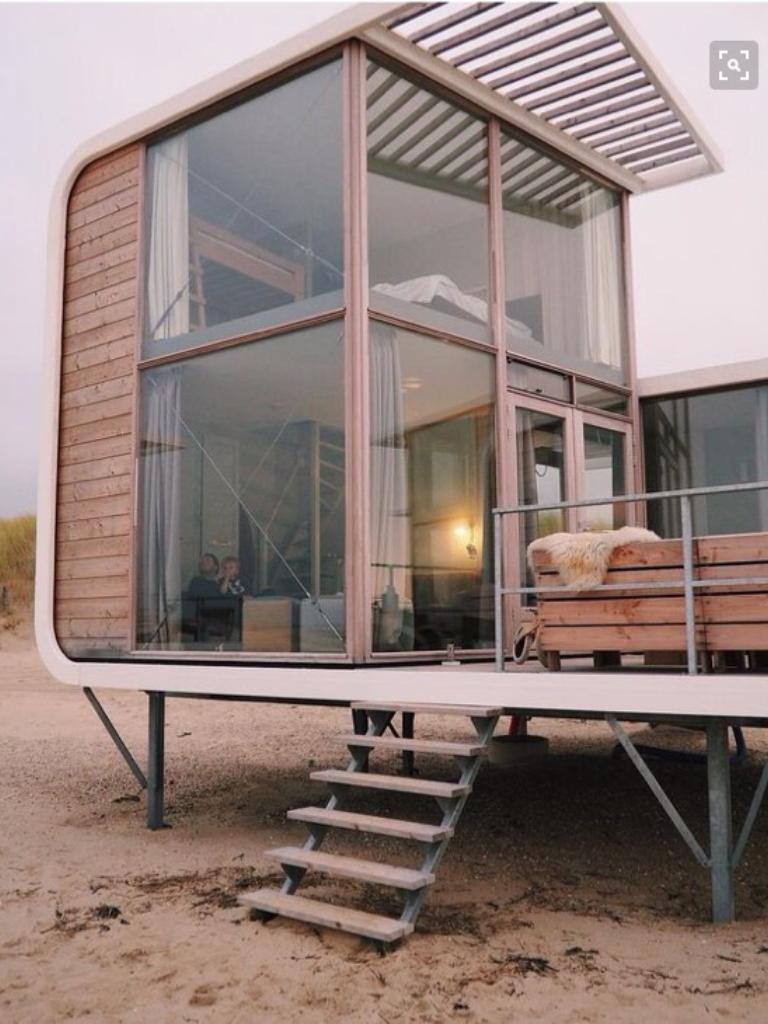 Tiny Beach Home Designs: Tiny Beach House, Modern House
