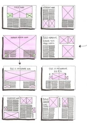 Great #layout ideas! | #Editorial Design don't know about all that white space but it's worth a shot