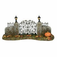 Department 56 Halloween Village Gothic Gate 800027 734409483934 | eBay