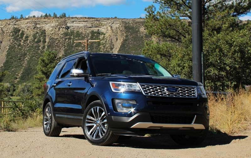 aggressive and bold due to change 2018 Ford Explorer