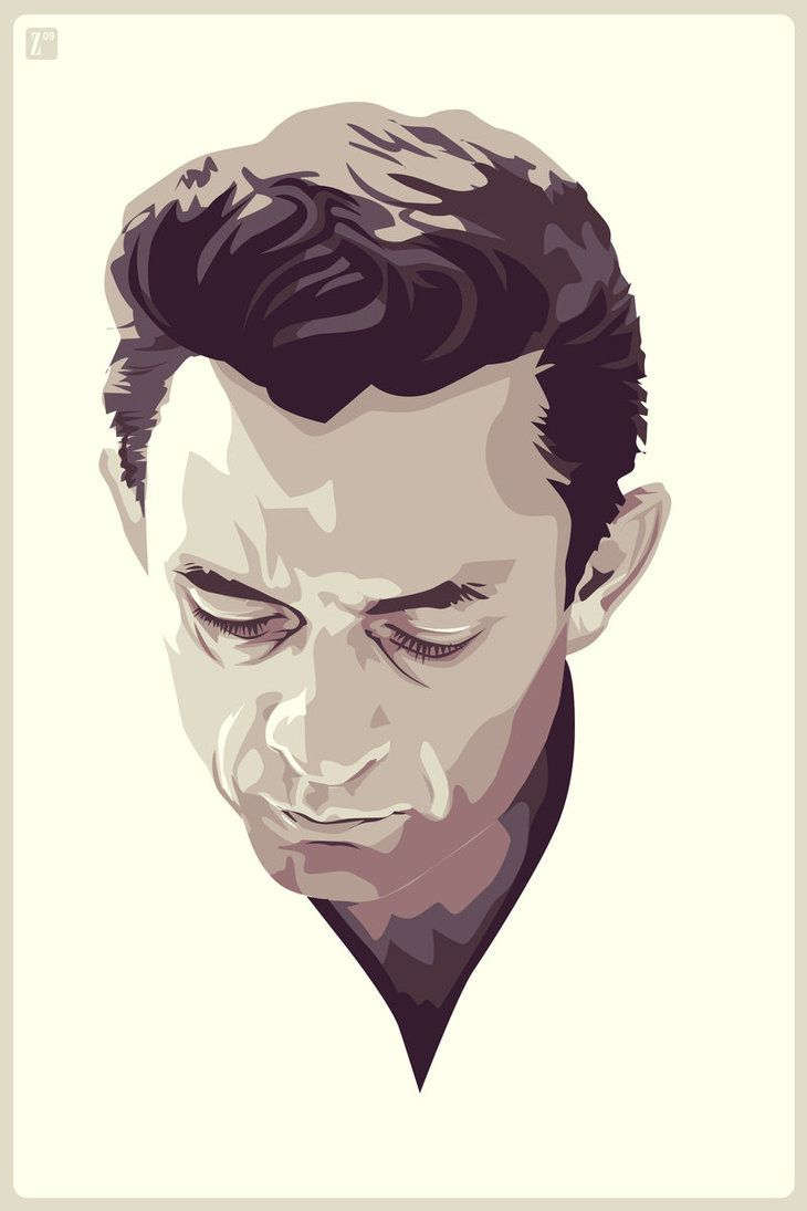 Download Johnny Cash - Zero #johnnycash #portraits | Johnny cash ...