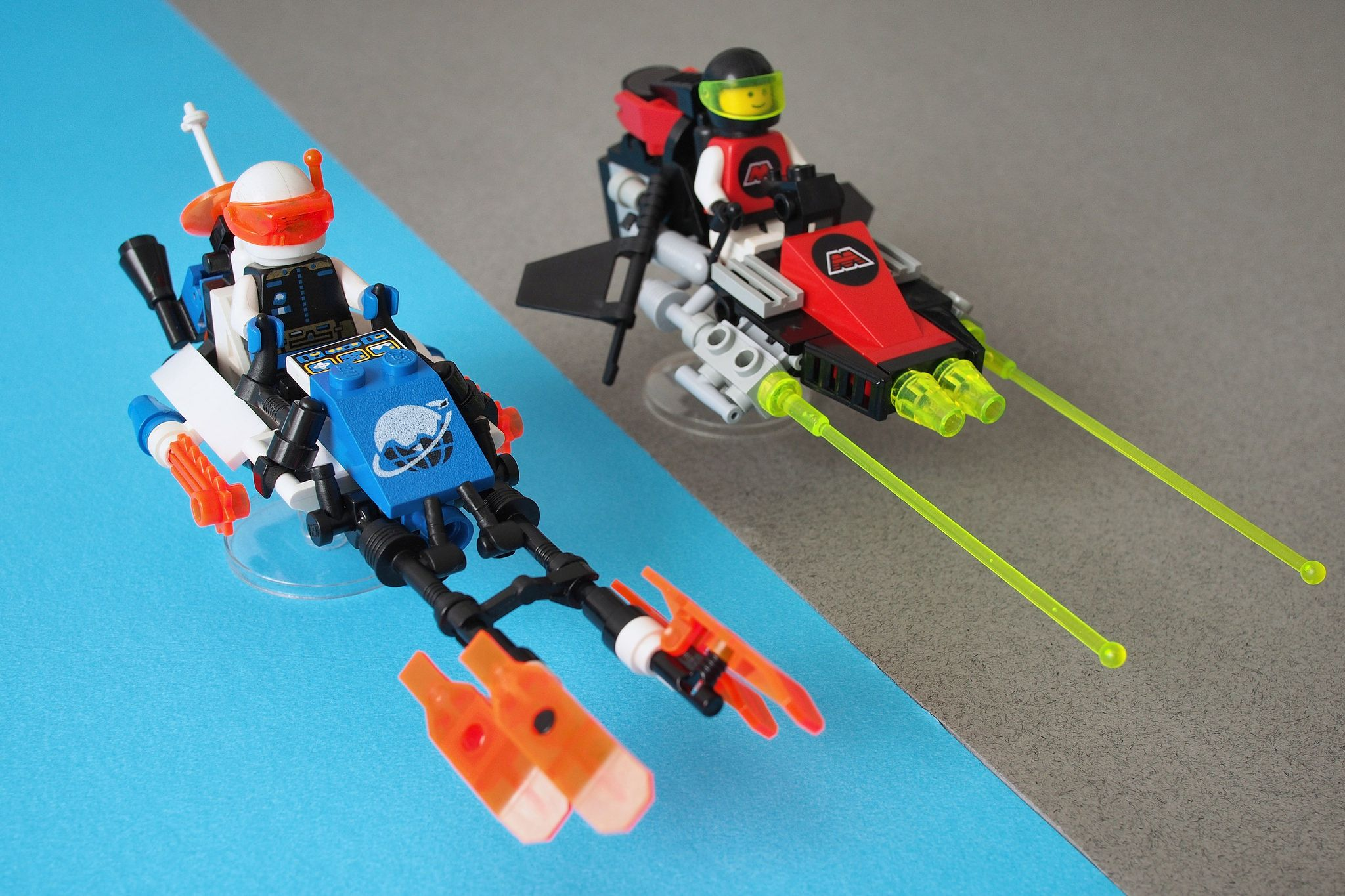 Early 90s Space Speeders Cool Lego Creations Lego Design Lego Cars