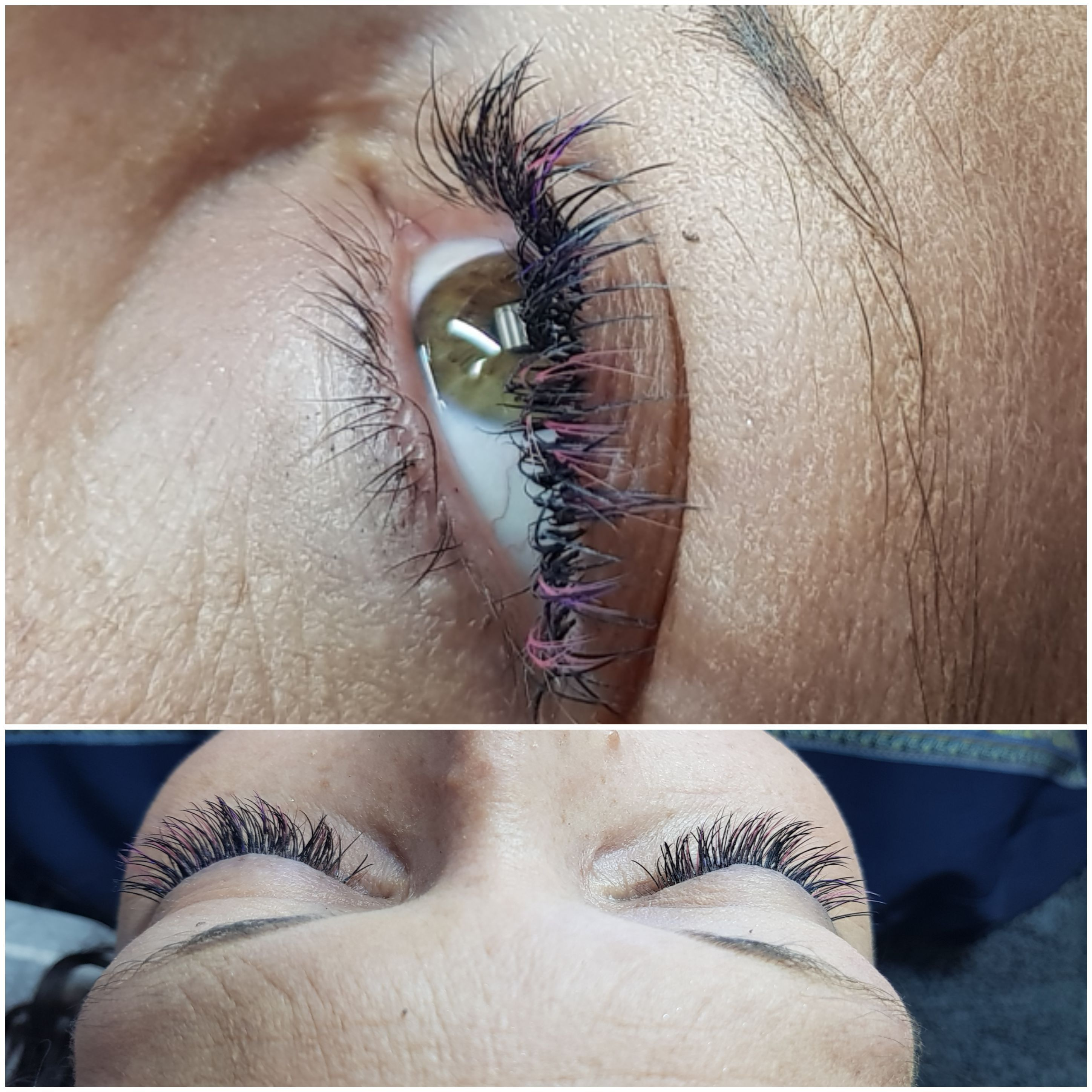 cabc4ab2614 Stunning individual lash set done by our Head Office Trainer, Elizma Smith.  Contact an