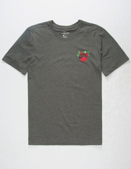 1cd3ddcdce4 NIKE SB Colorful Hibiscus Mens T-Shirt