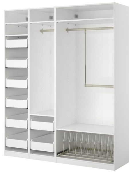Top pinned products from june 2013 organizing pinterest ikea closet closet organization for Bedroom closet organizers ikea