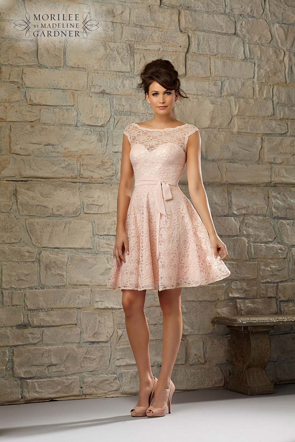 Pale pink bridesmaid dresses delightful styles