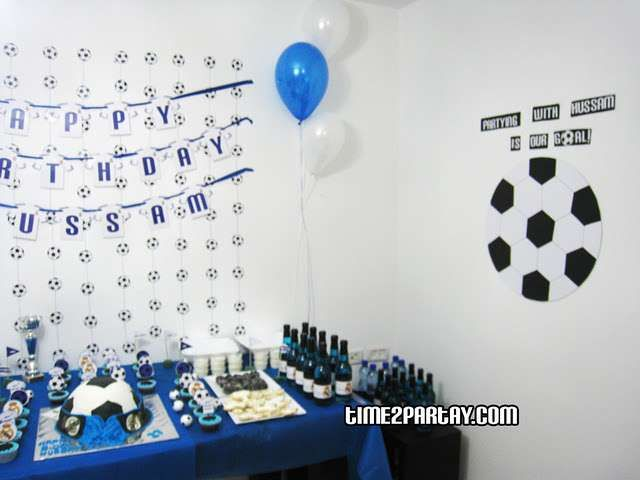 Real Madrid Soccer Football Birthday Party Ideas Soccer Party