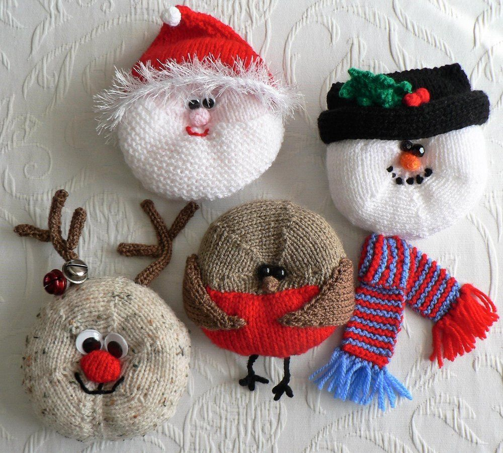 The Christmas Crew Knitting pattern by LCMknits ...