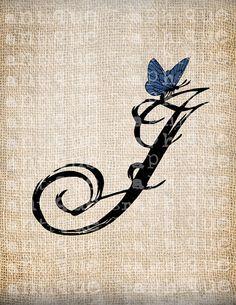 Swirl Letter J For Tattoo Google Search Letter J Tattoo J Tattoo Letter J