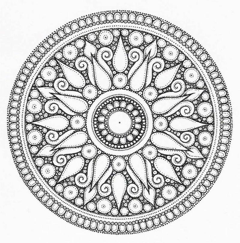 50 Mandala Vorlagen Stress Abbauen Diy Zenideen Mandala Vorlagen Mandala Design Mandala Tatowierung