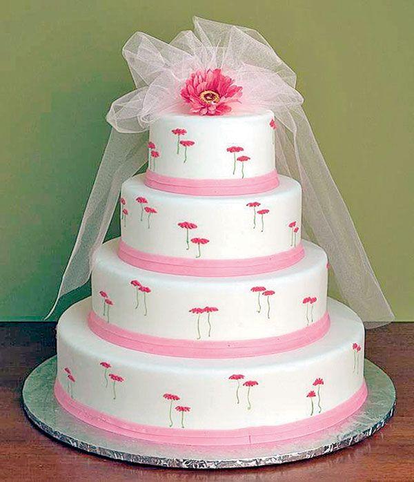 Inexpensive Wedding Cake Ideas: Wedding Cake #Mumbai #Food