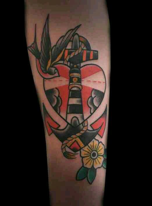 Traditional Colors (With images) | Traditional tattoo art ...