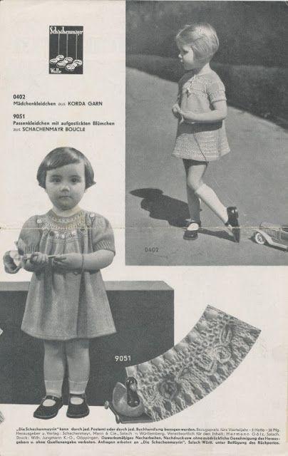 The Vintage Pattern Files: Free 1940's Knitting Pattern - Die Schachenmayrin 03