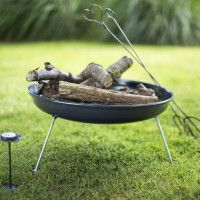 Firepit (Portable)   The Glam Camping Company