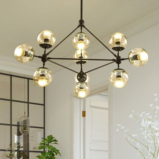Nordic magic balls pendant lights fixture american modern magic beans droplight home indoor lighting restaurant hanging