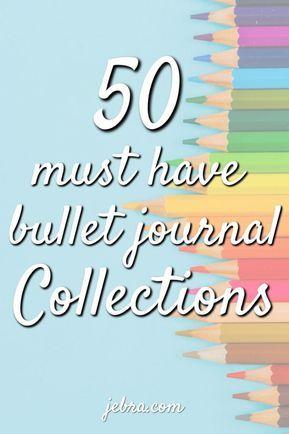 75 Genius Journal + Planner Collection Ideas