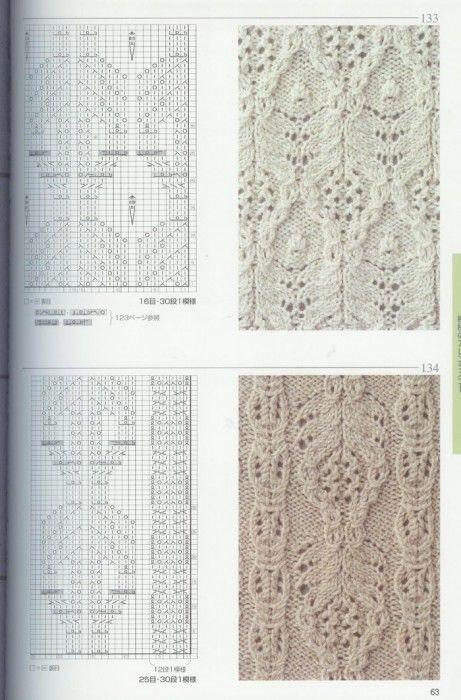 beautiful patterns knitting | | Bobbin Lace | Pinterest | Patrones ...