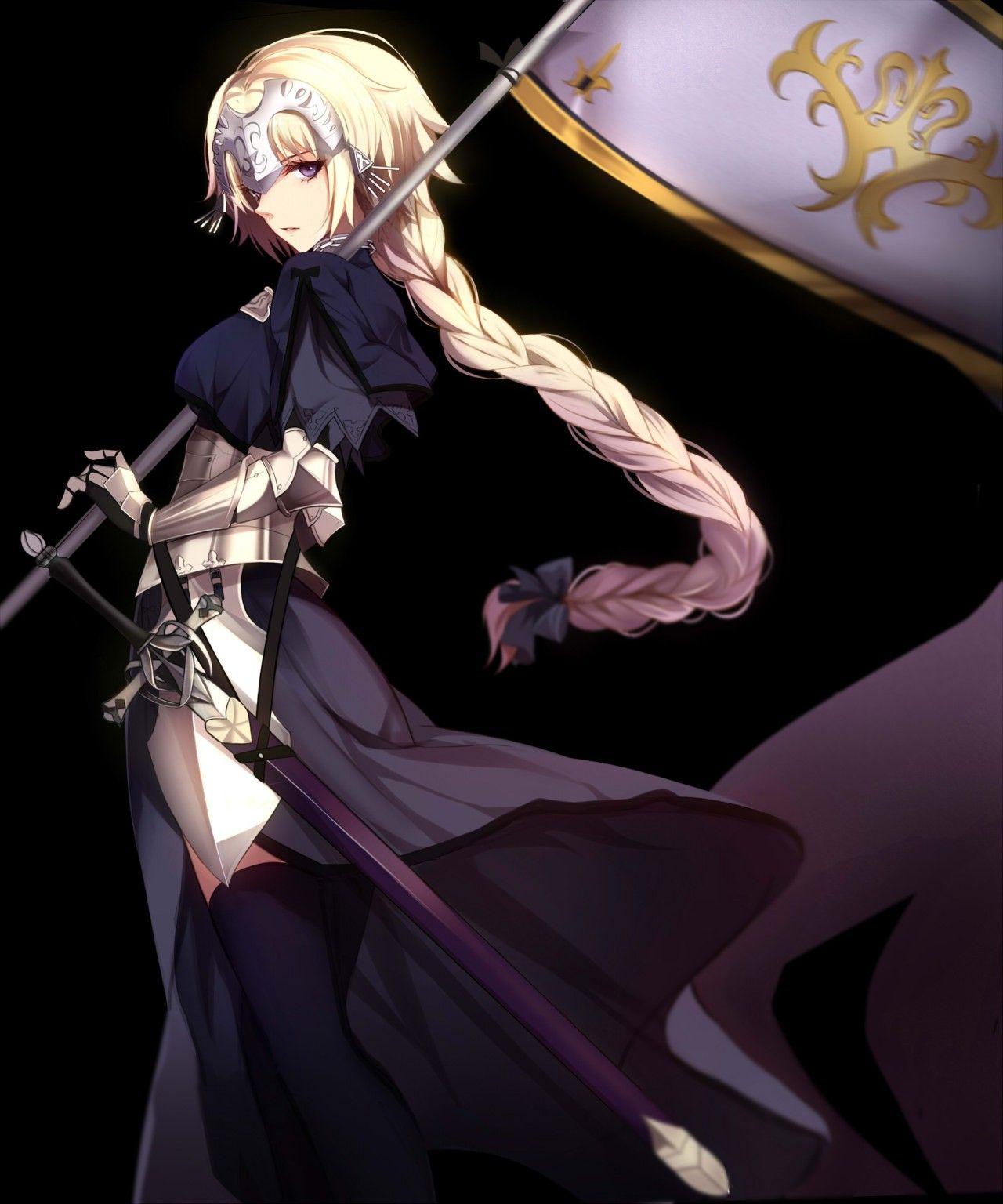 Pin by E.D. Jimenez on Fate Joan of arc fate, Fate anime