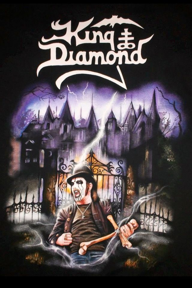 King Diamond King Diamond Heavy Metal Bands Metal Albums