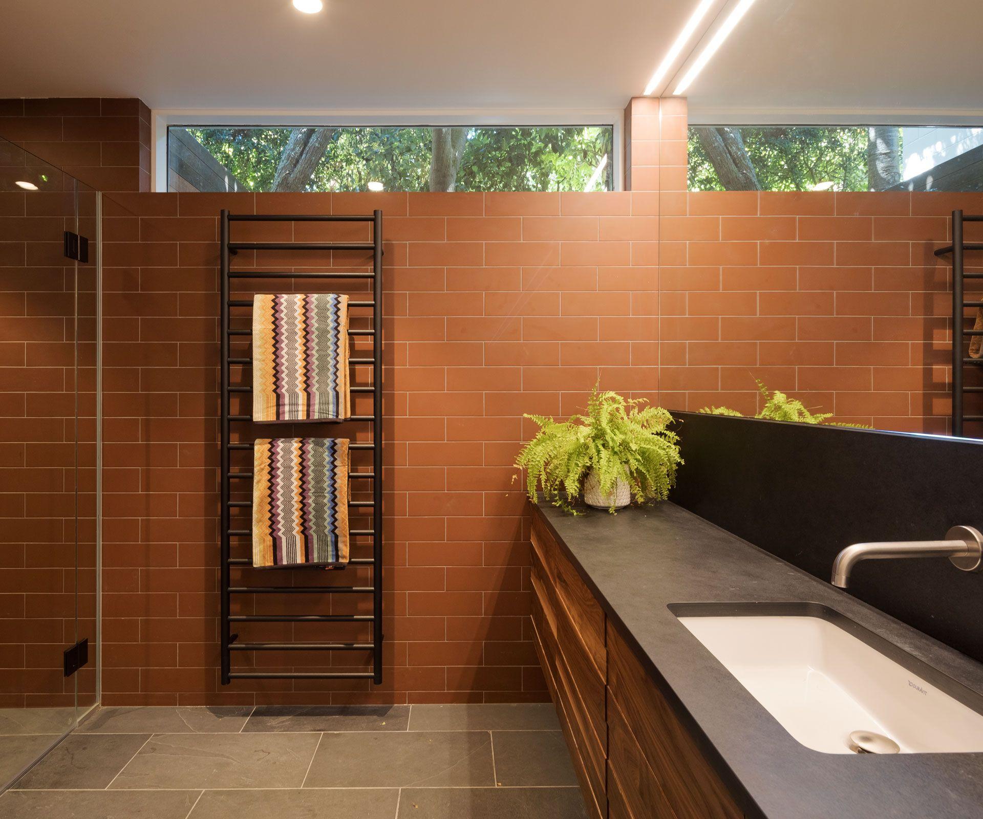 architect julian guthrie creates a rustic bathroom on bathroom renovation ideas nz id=79678