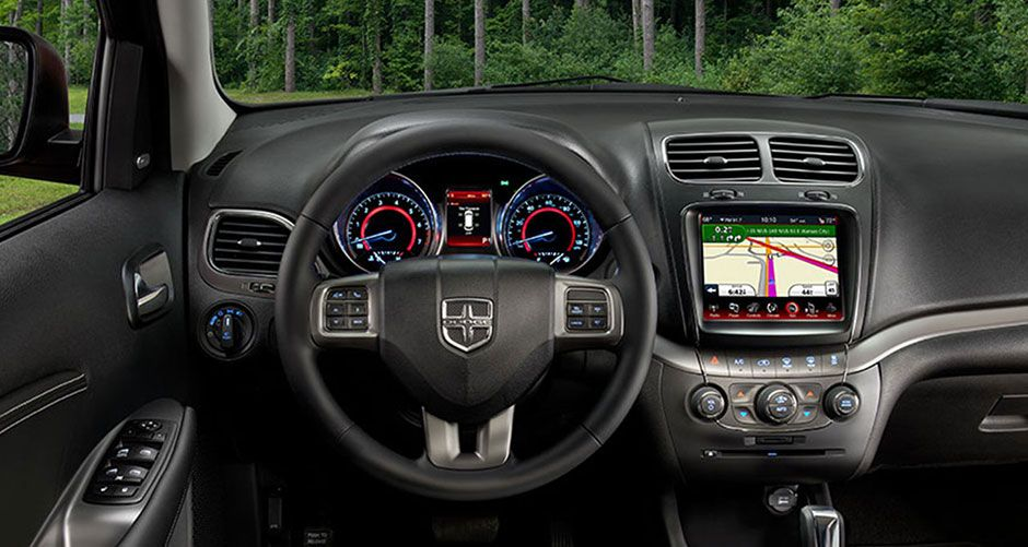 2015 Dodge Journey Interior The Journey offers a