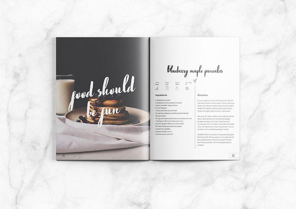 Lemonade Cookbook   Cookbook template and Template