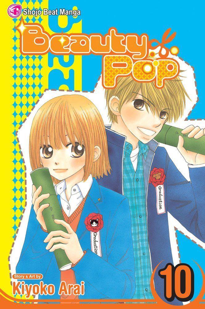 Beauty Pop 10 Arai Kiyoko Kiri Koshiba And Shogo Narumi On The Front Cover Beauty Pop Manga Beauty