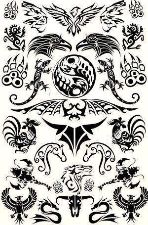 Tattoo Animals Tribal Animal Tattoos Tribal Animals Animal Tattoos