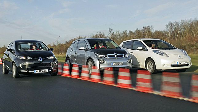 BMW i3 vs. Nissan Leaf vs. Renault ZOE