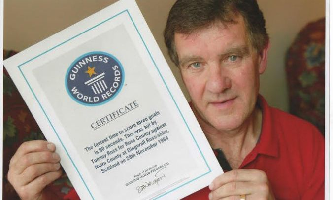 Football Hero Tommy Ross Who Scored World S Fastest Ever Hattrick In 90 Seconds Dies Eze Free 90 Second Scores Tommy