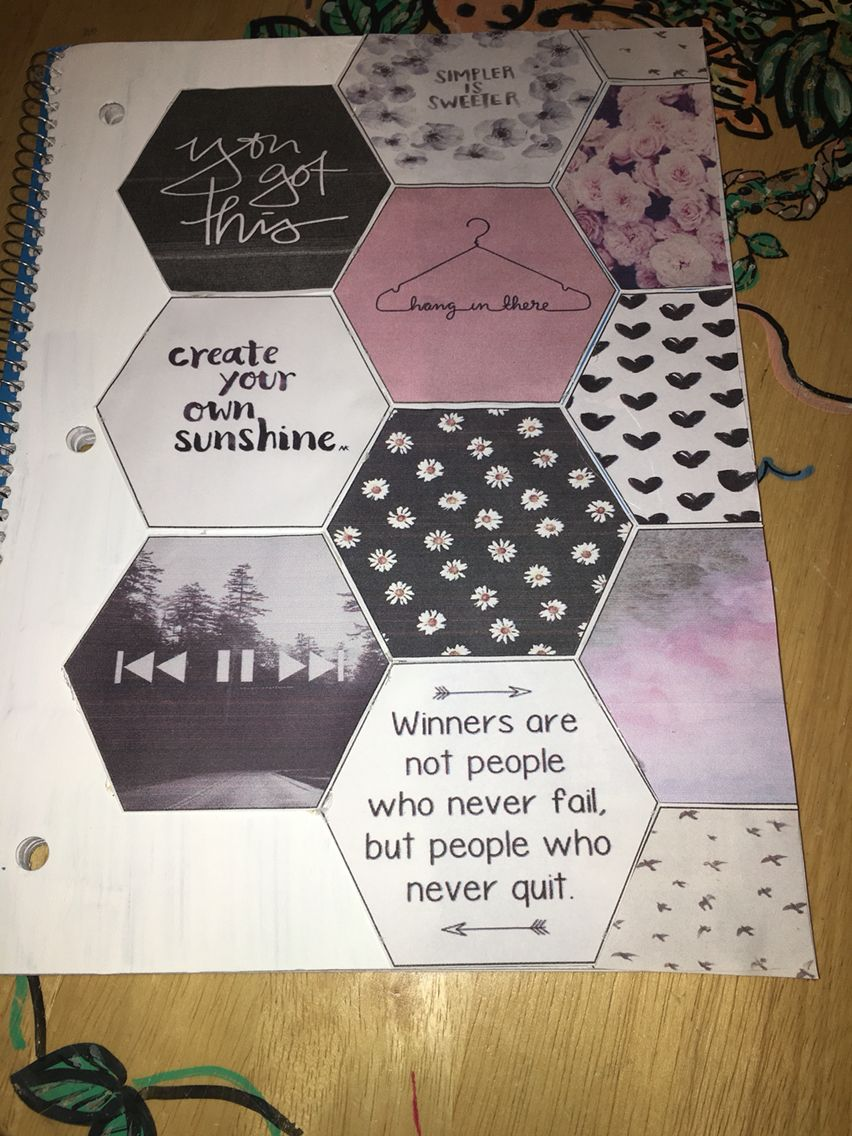 Tumblr Inspired Notebook