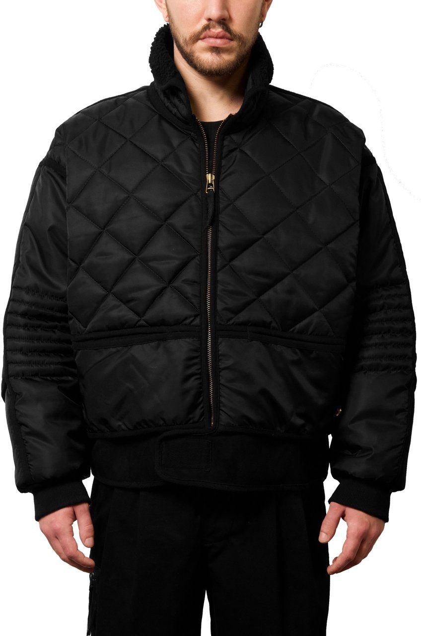 032c Wwb Chevignon By 032c Cosmo Jacket Black 032c Store Jackets Clothing Brand Winter Jackets [ 1279 x 848 Pixel ]