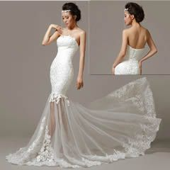 Designer Couture Custom Mermaid Flamenco Style Wedding Dresses Bridal Gowns Page One Liquiwork