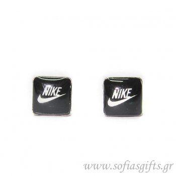 7fd5723ddeb2 Πλακέ ανδρικό σκουλαρίκι Nike  ανδρικά  σκουλαρικια  andrika  skoularikia   kosmhmata  κοσμηματα