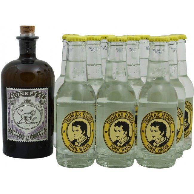monkey 47 gin tonic set drink gin gin gin tonic und. Black Bedroom Furniture Sets. Home Design Ideas