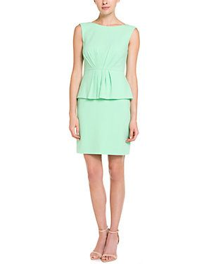 Catherine Catherine Malandrino 'Valeria' Vert Green Peplum Dress