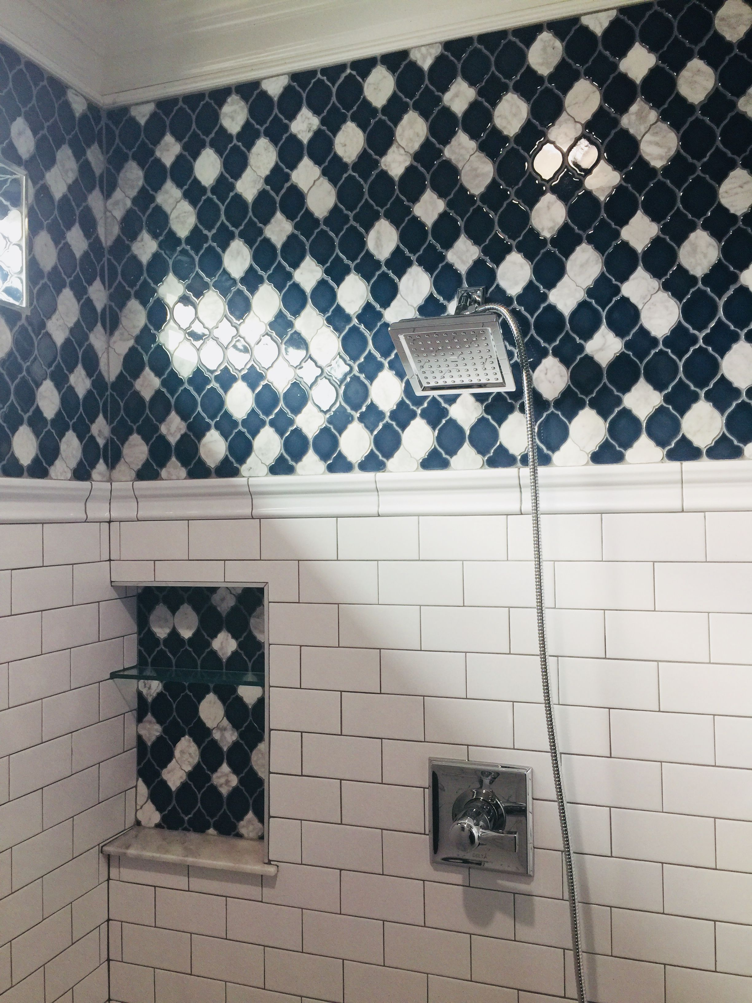 decor mystic lantern glass mosaic tile