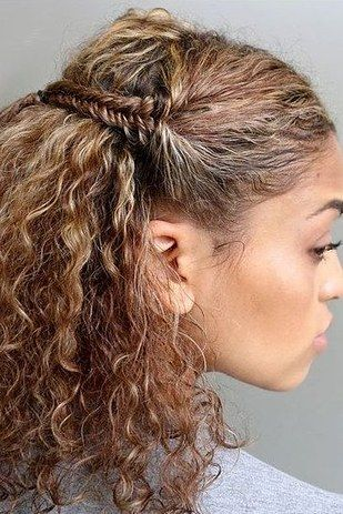 Fishtail Braid Your Hair Into A Game Of Thrones Inspired Do Curly Hair Styles Naturally Curly Hair Styles Running Hairstyles