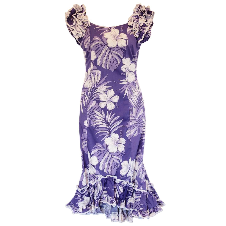 Hermosa Vestidos De Dama De Impresión Hawaiano Composición - Ideas ...
