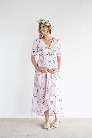 The perfect baby-shower dress? We certainly think so! Our Harlow Maternity and Nursing Wrap Dresses are easily the most popular...