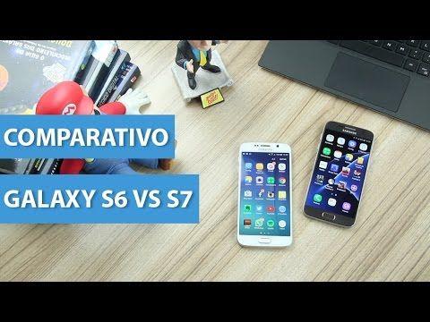 Comparativo: Galaxy S6 vs Galaxy S7
